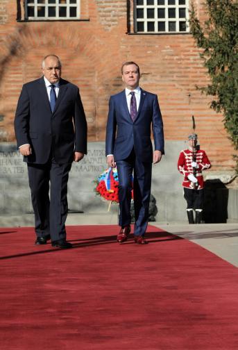 Борисов Медведев София