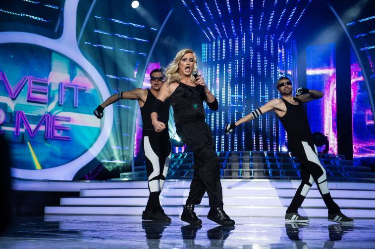 Стефан Илчев като Мадона