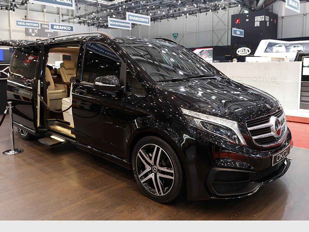 Okcu Mercedes Benz V-Class VIP Edition