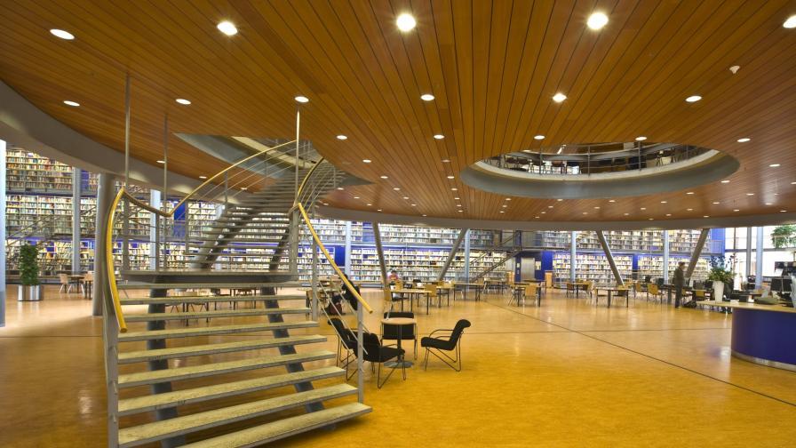 <p><strong>Новите библиотеки</strong> - модерни, просторни и пълни с хора</p>