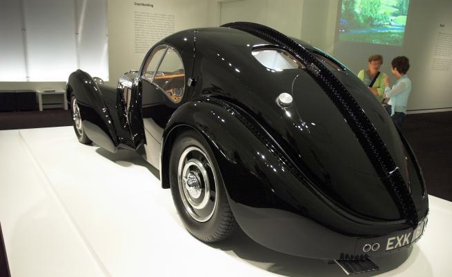 Bugatti Atlantic, който днес е собственост на Ралф Лорен