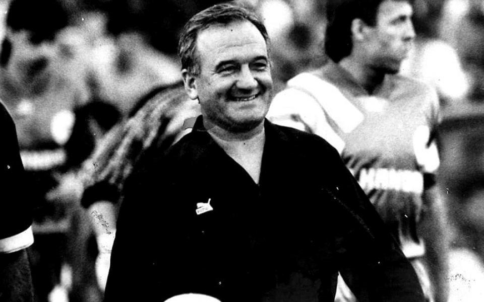 Почина големият футболен съдия Георги Цветанов