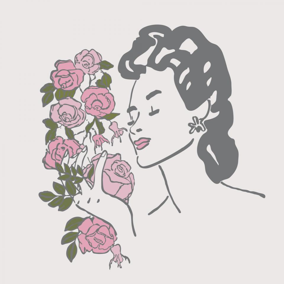 жена илюстрация