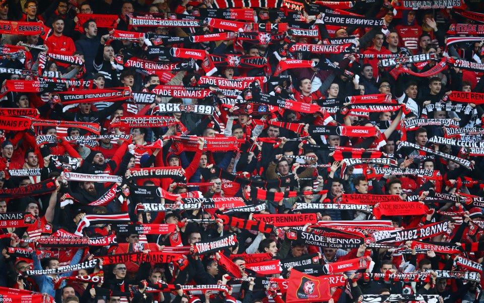 Френско нашествие на стадиона на Арсенал