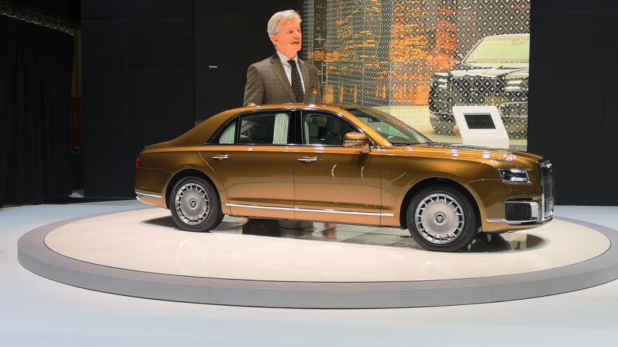 <p>Руският Rolls-Royce дебютира в Женева</p>