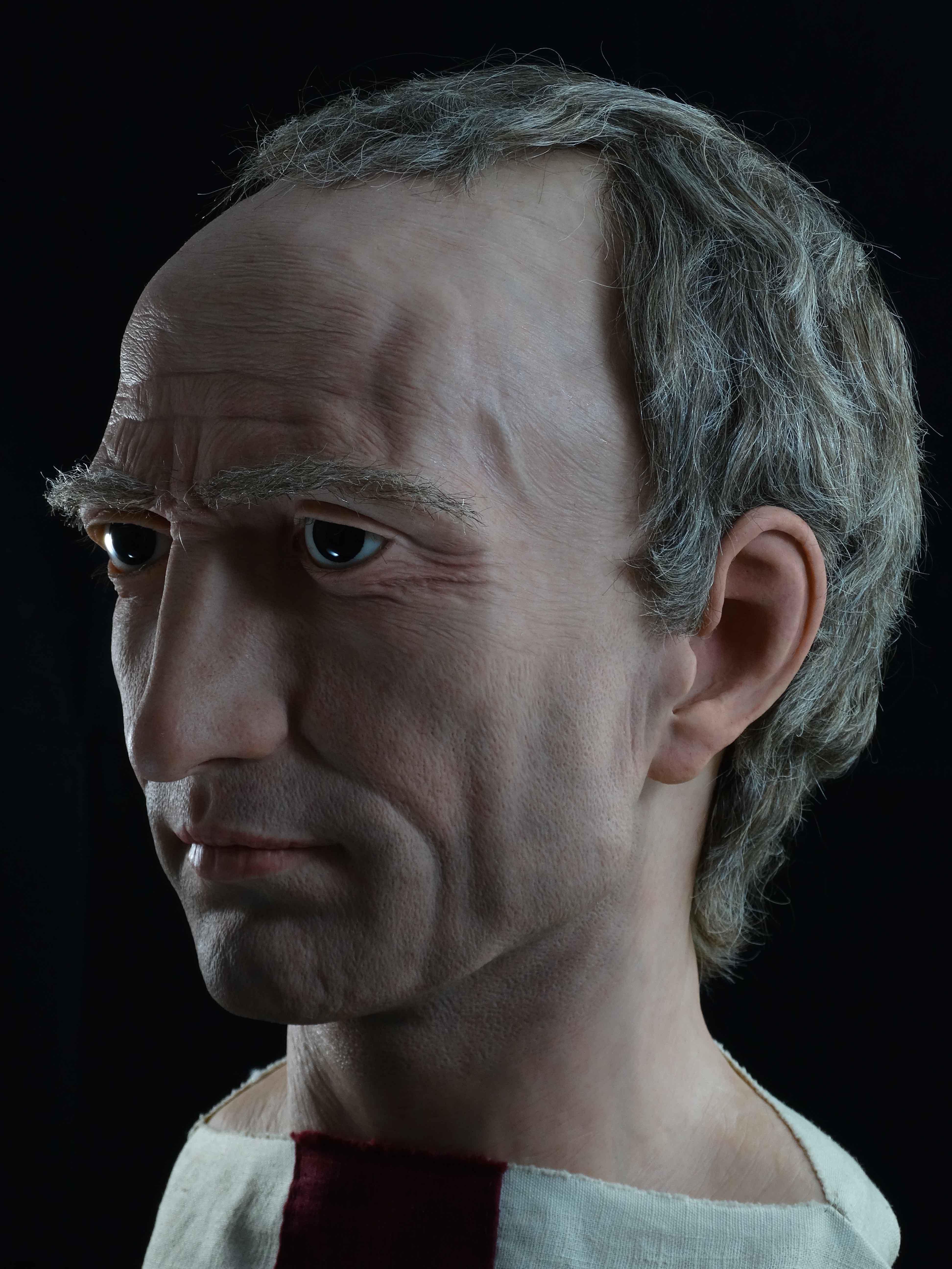 Политик, верен на популарската традиция, Цезар заедно с Марк Лициний Крас и Гней Помпей формира неофициалния Първи триумвират, който доминира римската политика за няколко години. Негова опозиция са оптиматите начело с Марк Порций Катон и Марк Калпурний Бибул.