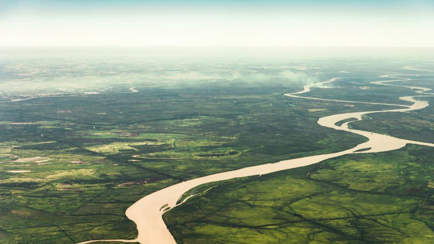 На снимката: Река Амазонка