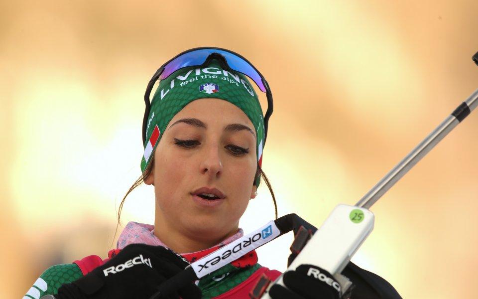Лиза Витоци с дебютна малка Световна купа в биатлона