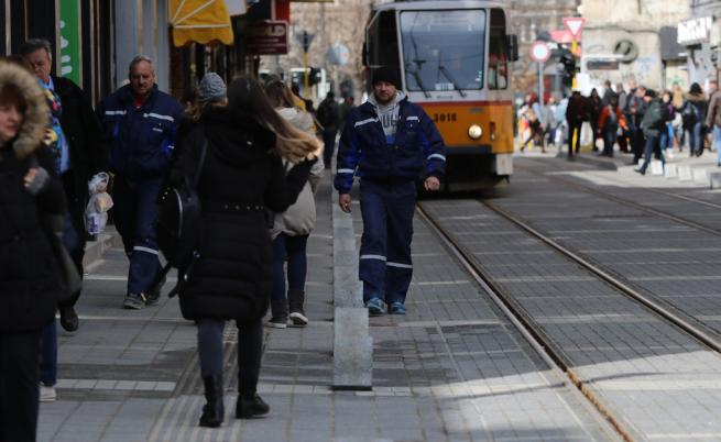 Трамвай се запали