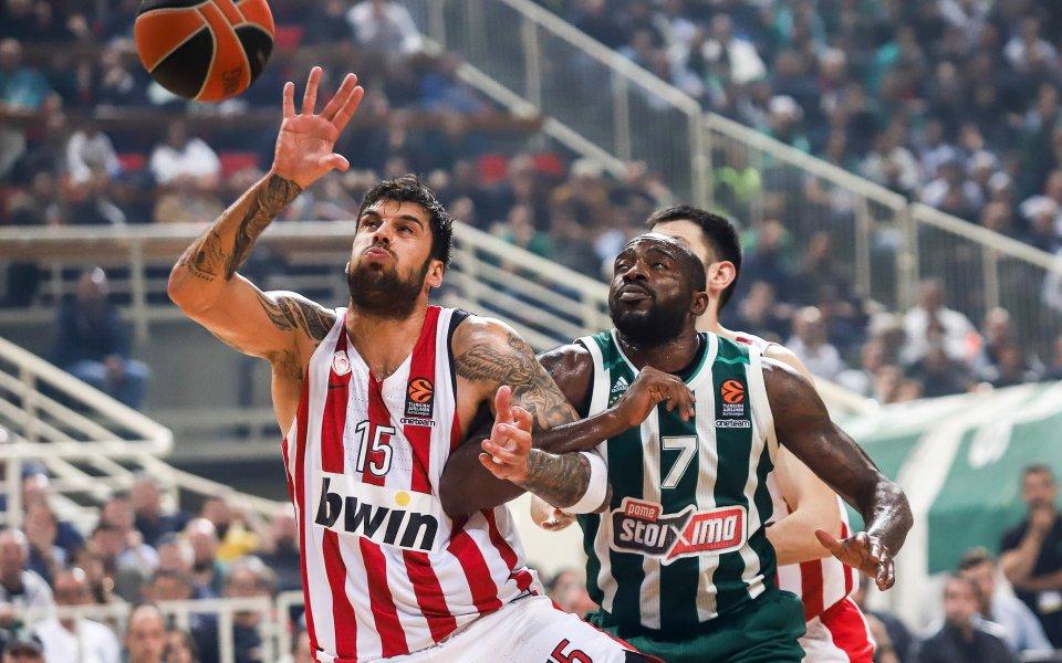 Отложиха мач на Олимпиакос в гръцкото баскетболно първенство