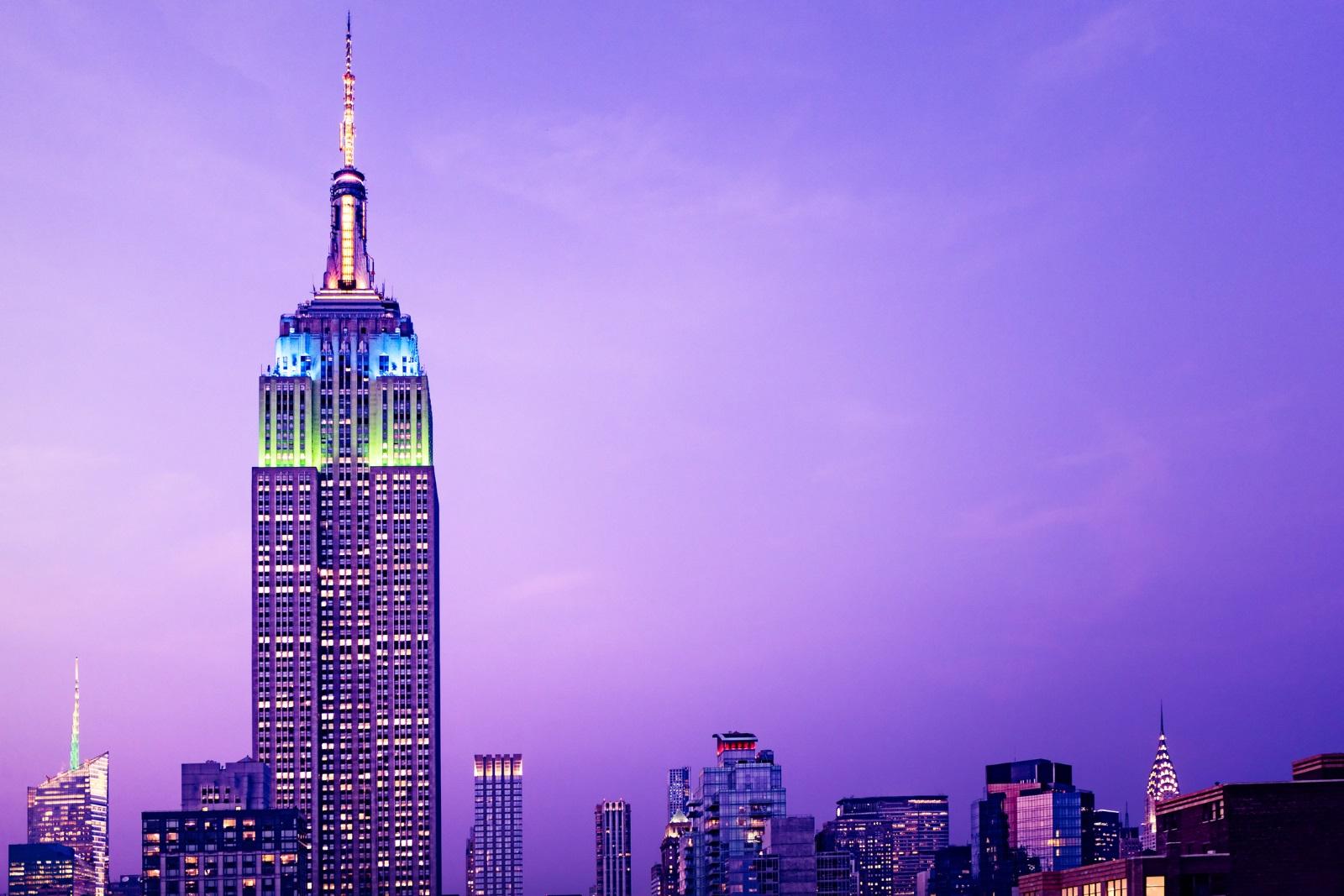 """""""Емпайър Стейт Билдинг"""", САЩ<br /> На 103-ия етаж на небостъргача в Ню Йорк има тайна палуба за наблюдение, за която не много хора знаят."""