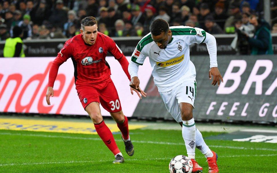 Мьонхенгладбах отново не победи у дома си, стигна до равен с Фрайбург