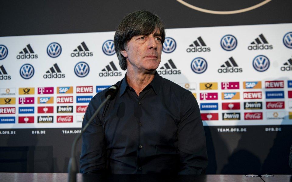 Льов: Германия има нужда от силни резултати