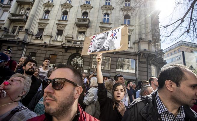 Напрежение в Сърбия, протести, искане за оставки