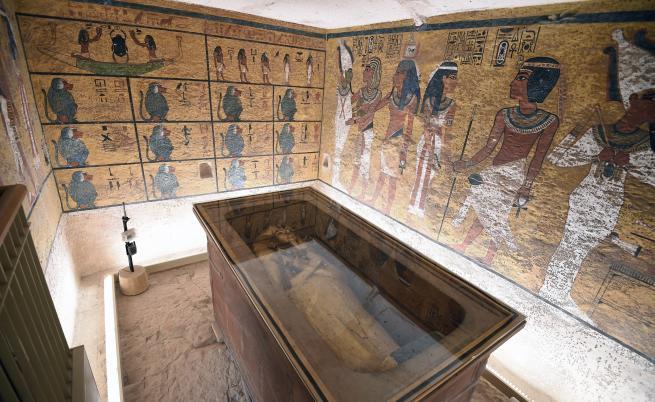 Проклятието на фараоните ли успява да опази гробницата и саркофага на Тутанкамон