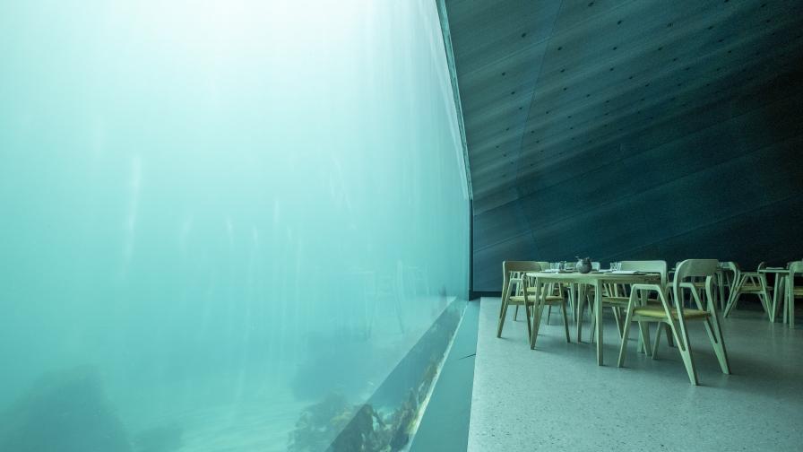 Under - един от най-невероятните ресторанти...