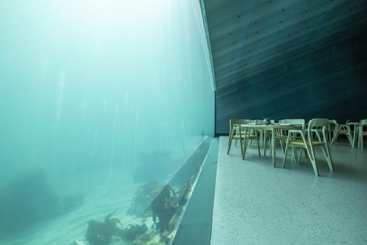 Ресторантът Under се намира в Норвегия и ще започне да приема гости на 21 април тази година