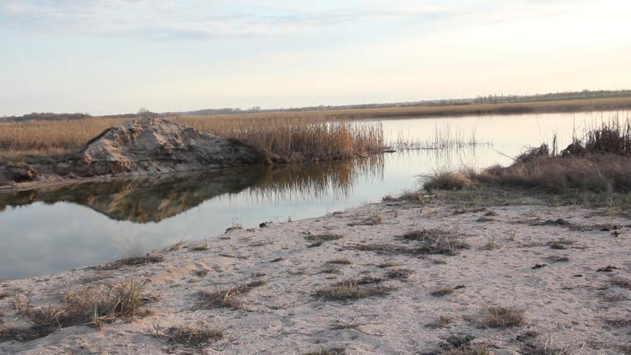 шабла езеро източване на води