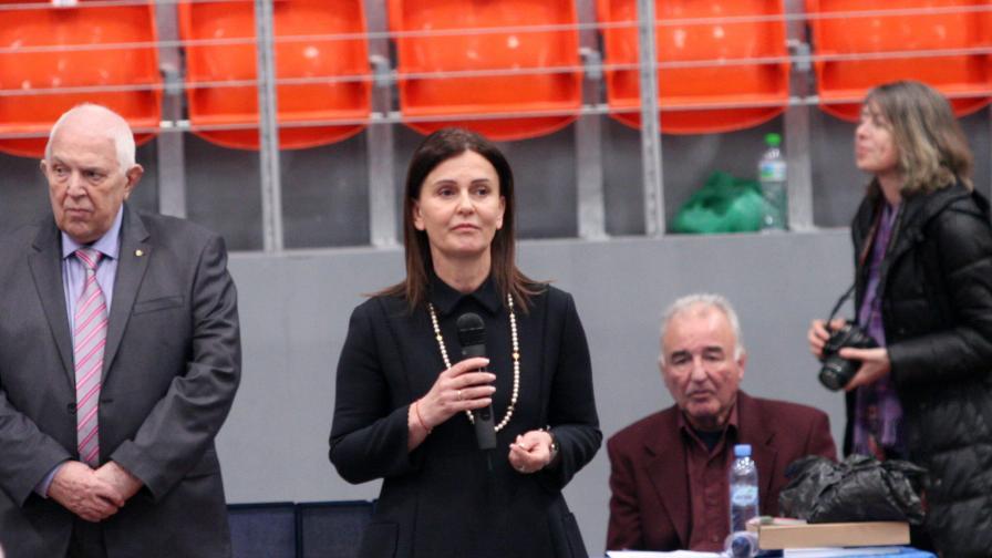 На снимката: Ваня Колева