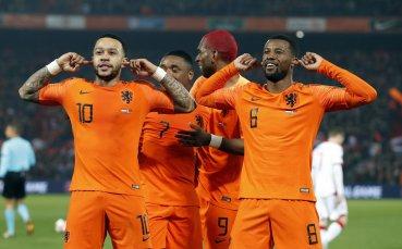 Холандците подкараха Беларус от първата минута и така до края