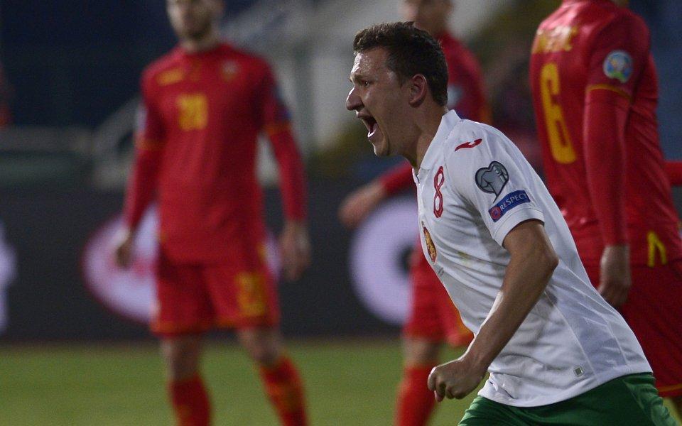 Националният отбор на България по футбол няма победа вече една