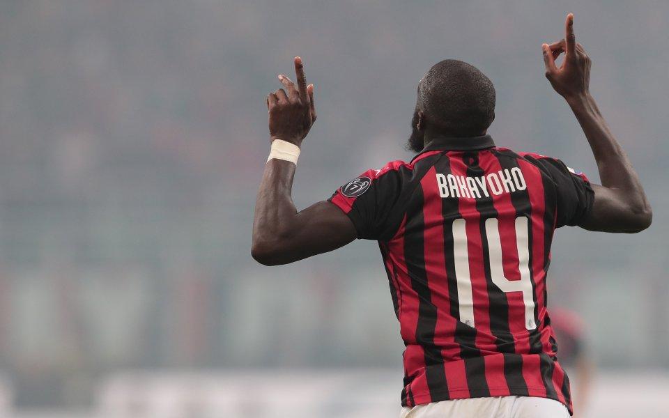 Милан глоби полузащитника Тиемуе Бакайоко с 90 000 евро за