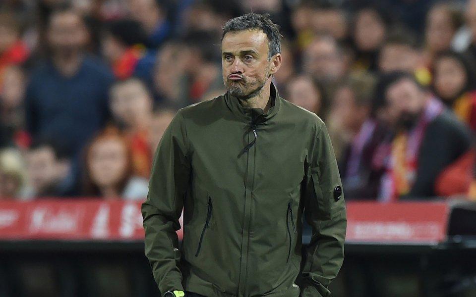 Луис Енрике няма да води Испания срещу Малта
