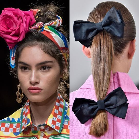 <p><b>Аксесоари за коса</b><br /> Правете като латиноамериканките и сицилианките. Накичете косите си с всякакви аксесоари и цветя. Така със сигурност ще привличате внимание към себе си без особени усилия. Доменико Долче и Стефано Габана са наясно с магнетичната сила на аксесоарите за коса и не пропускат да ги използват за прическите на моделите си.</p>  <p><b>&nbsp;</b></p>  <p><i>Dolce&amp;Gabbana, Emilia Wickstead</i></p>