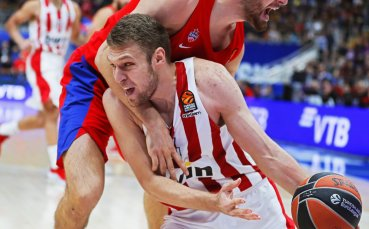 Везенков: Искам да помагам на Олимпиакос да печели повече