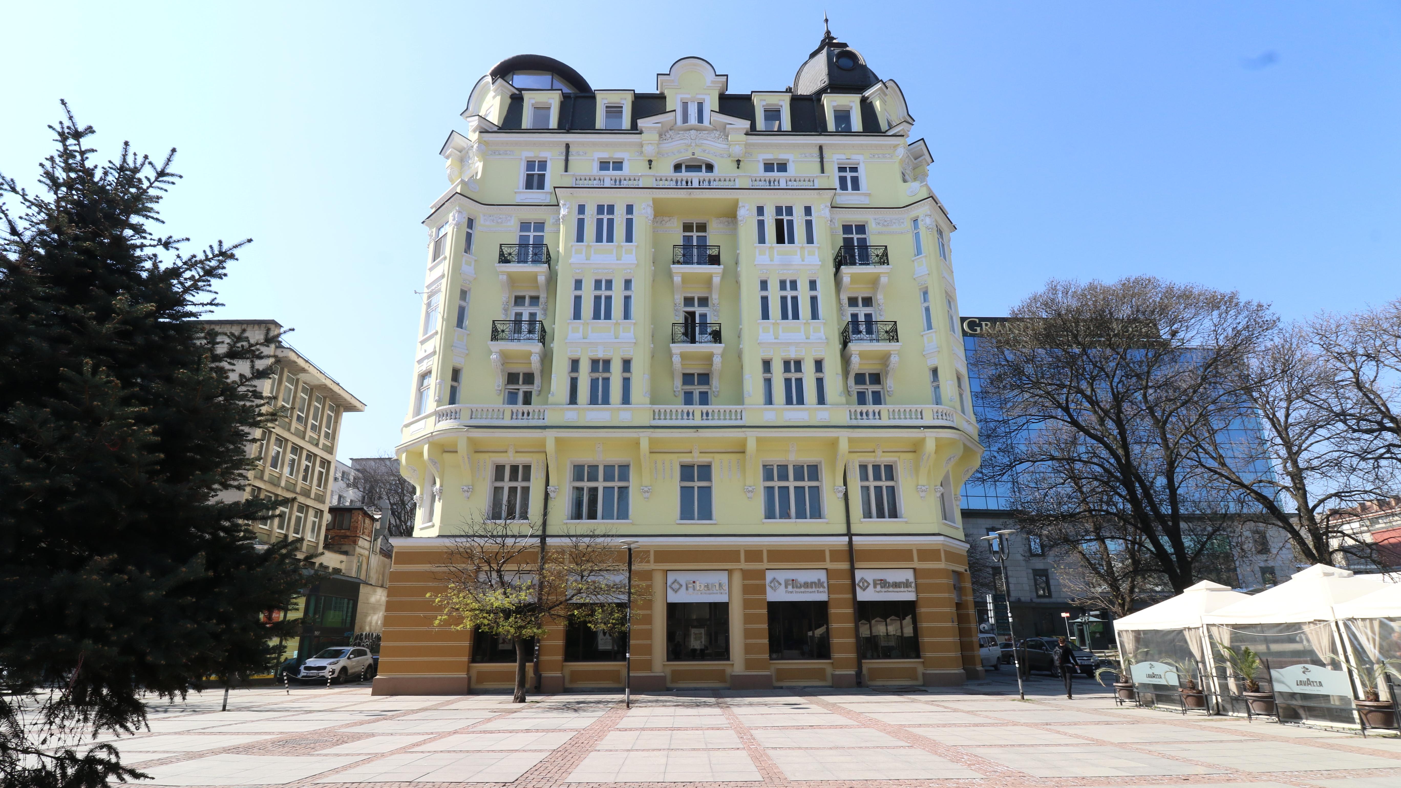 Къщата на Гендович - една от най-красивите сгради в София, дело на арх. Никола Лазаров.