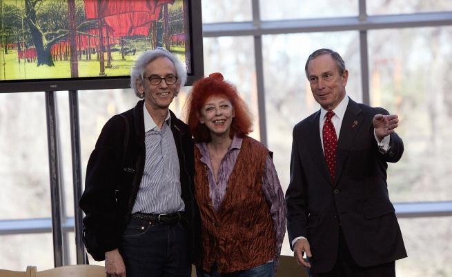 Кристо и Жан-Клод, Ню Йорк, 2005 г.