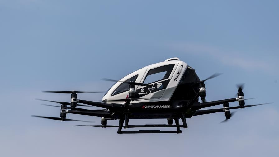 НАСА вижда бъдеще на пълни с дронове градове