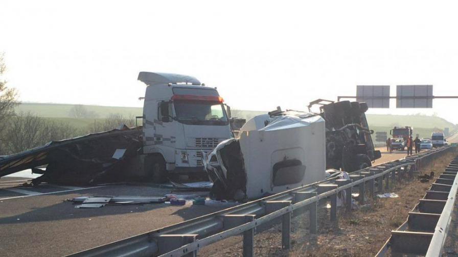 <p>Неспазване на дистанция е причината за <strong>пътния инцидент&nbsp;</strong></p>