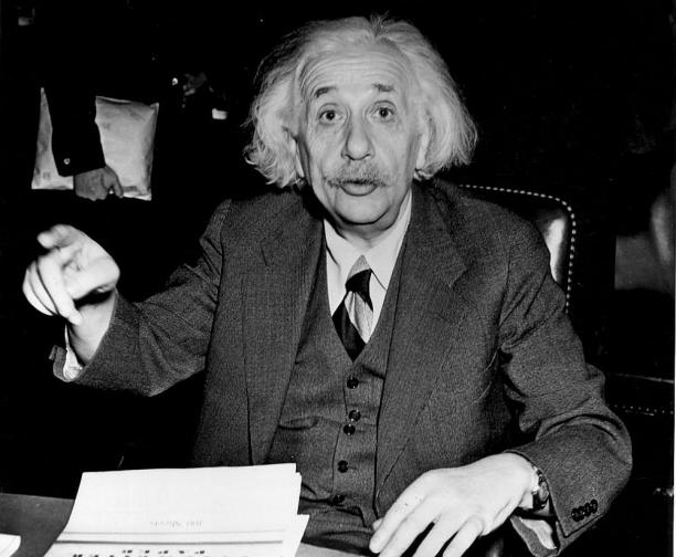Алберт Айнщайн
