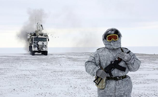 Руската армия настъпва в Арктика