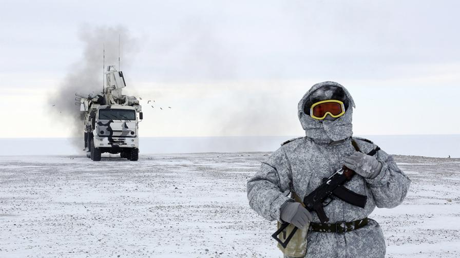 <p>Руската армия настъпва в Арктика</p>