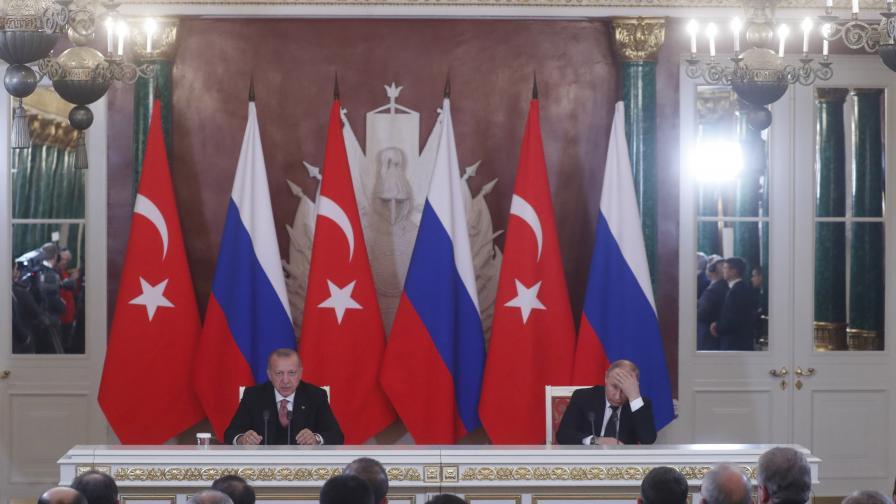 Стокообменът между Русия и Турция ще стане 100 млрд., искат президентите
