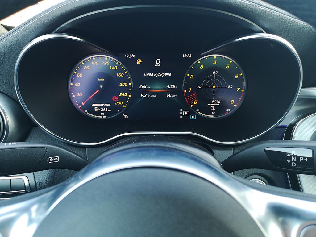 C43 е връзката между нормалния C-Class, където властват 2,0-литровите двигатели, и чистокръвните V8 зверове, създавани от AMG в Афалтербах.