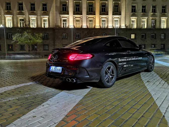 Mercedes AMG C43 Coupe галерия