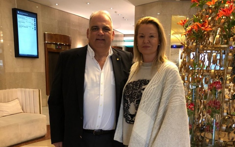 Стефка Костадинова се срещна с боса на борбата
