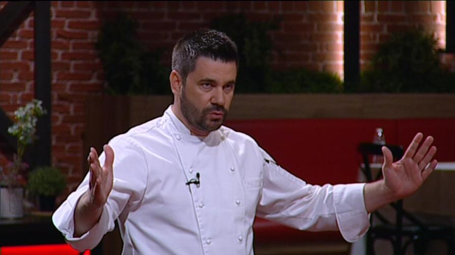 <p>Коварство в Hell's Kitchen, ще сдържи ли нервите си шеф Ангелов</p>