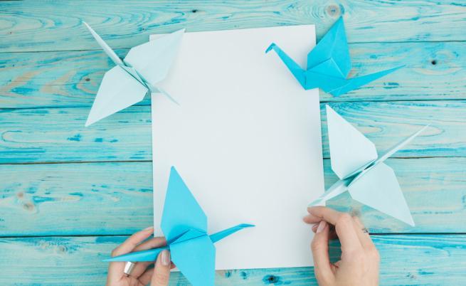 1000 жерава от хартия в търсене на надежда