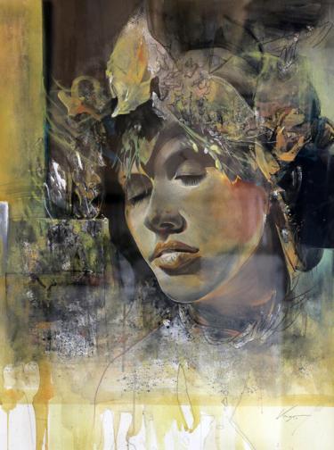Предчувствие за реалност изложба на Васил Василев Васо галерия АБСЕНТ