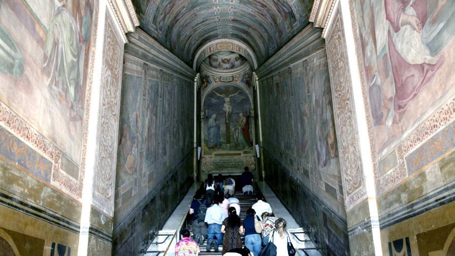 <p>Светите стъпала, по които е преминал <strong>Христос</strong></p>