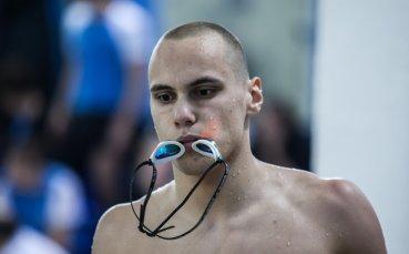 Антъни Иванов е на полуфинал на европейското по плуване