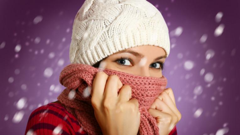 кожа жена зима шал