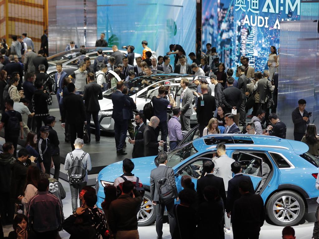 Авто изложението в Шанхай, Китай