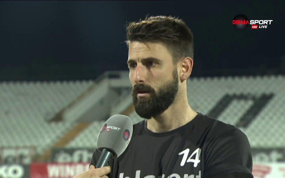 Капитанът на Локомотив Пд Димитър Илиев излезе в минорно настроение