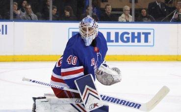 Александър Георгиев и Рейнджърс със загуба в НХЛ