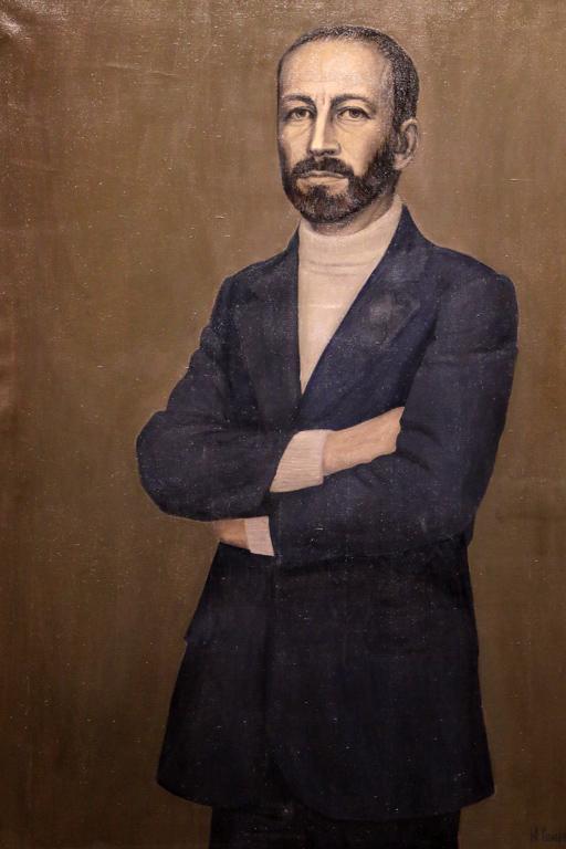 Мария Столарова, портрет на Методи Андонов 1976г.